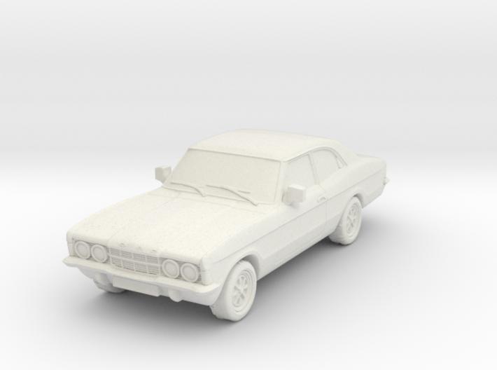 1:87 Cortina mk3 standard 2 door hollow 3d printed