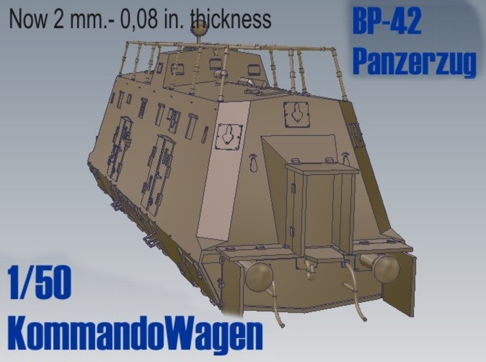 1-50 Improved K-Wagen For BP-42 3d printed