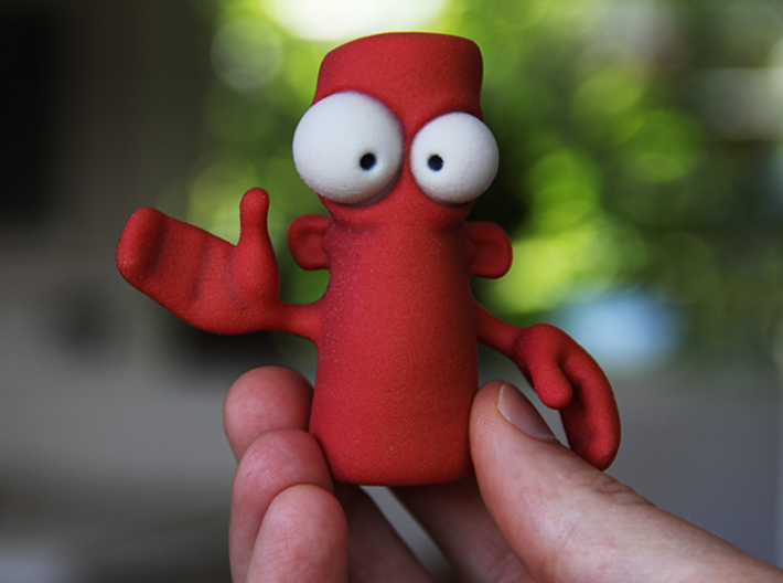 DO NOT Push The Red Button! 3d printed Seems harmless enough.
