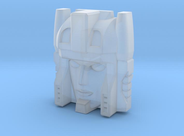Minerva Faceplate (Titans Return) 3d printed