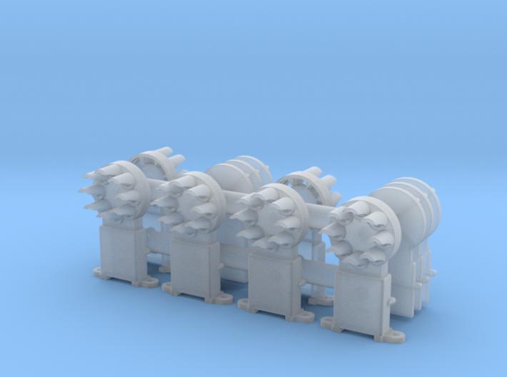 Dwarf B&O CPL(6) - HO 87:1 Scale 3d printed