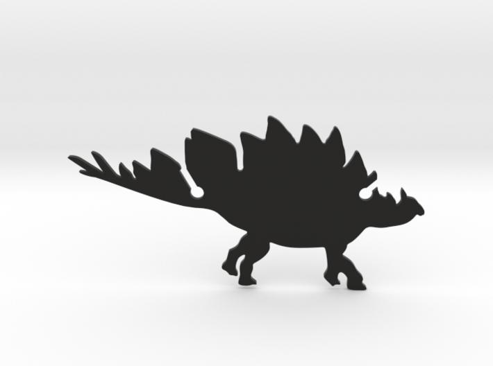 Stegosaurus Clip 3d printed