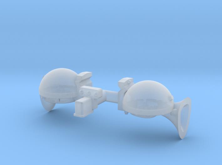 Sparton Horns 1 25 3d printed
