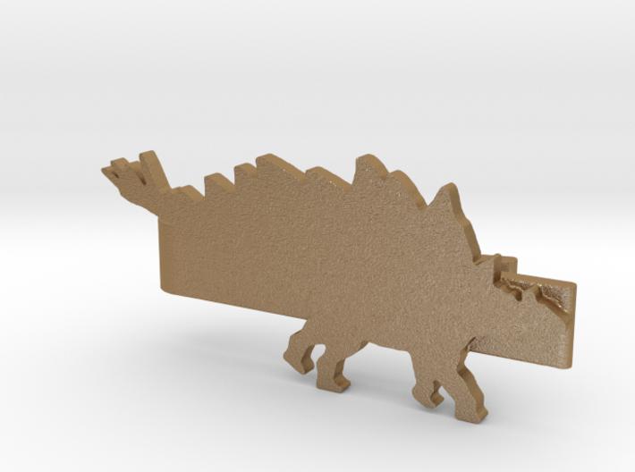 Stegosaurus Tie Clip 3d printed