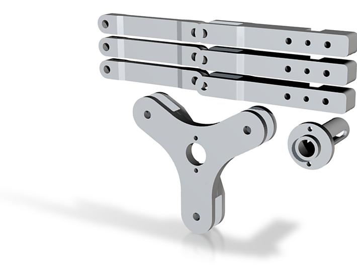 3RRR Robot Parts 3d printed