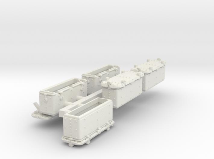 1/96 Oerlikon US Navy Ammo Locker SET 3d printed