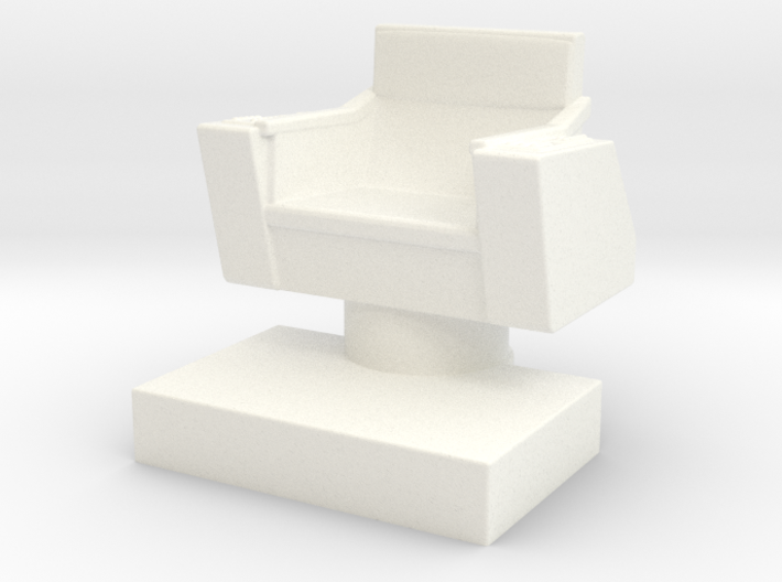 Game piece captain's chair 3d printed