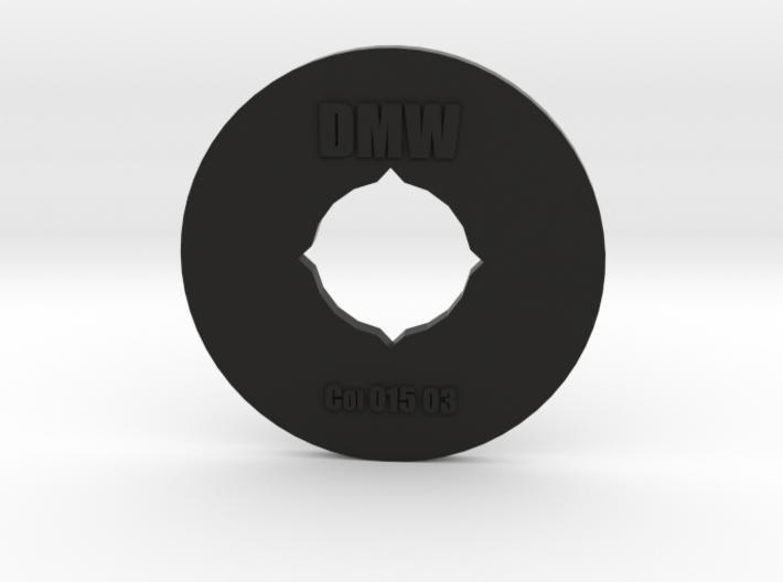 Clay Extruder Die: Coil 015 03 3d printed