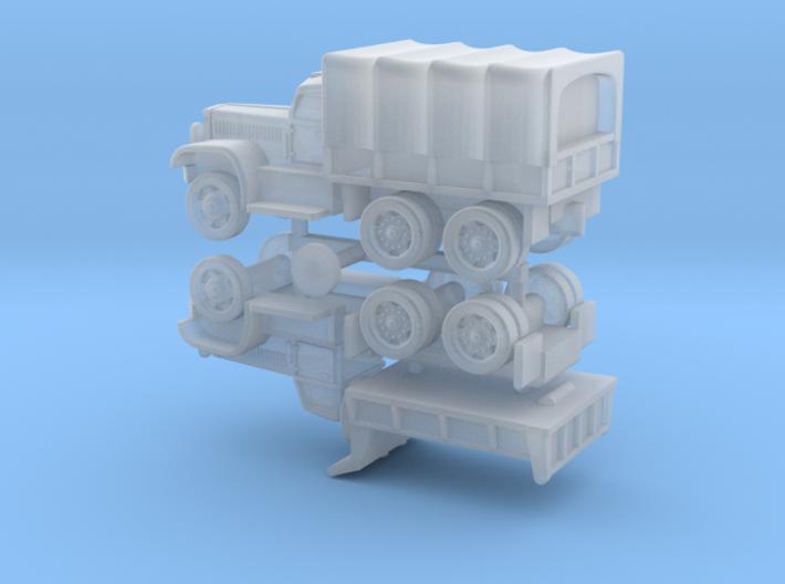 US Diamond T 968 / 972 Trucks 1/285 3d printed