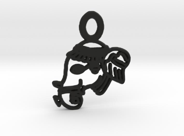 YOGA ELEPHANT Pendant 3d printed