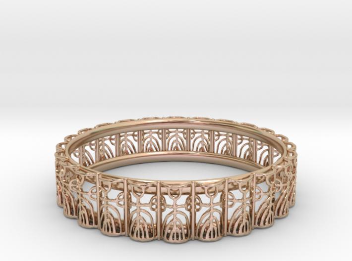FitzLogo Bracelet 3d printed