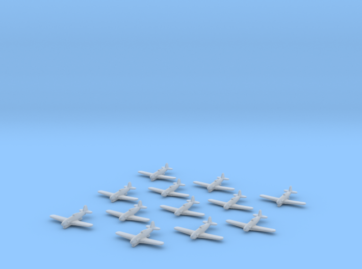 Fiat G.55/S 'Silurante' 1:1250 x12 (x6 with torp) 3d printed