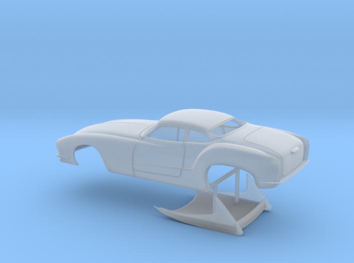 1/64 Outlaw Pro Mod Karmann Ghia No Scoop 3d printed
