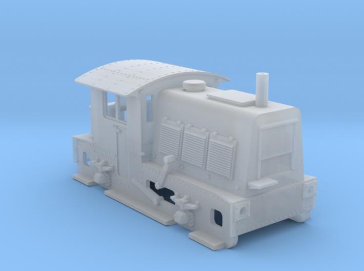 N SIK NS 200-300 locomotor (oudere versie) 3d printed