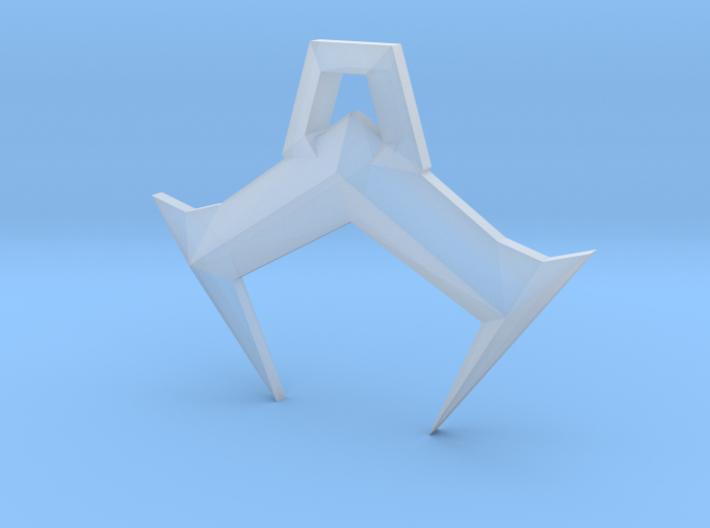 Geometry Wars 3 Pendant 3d printed