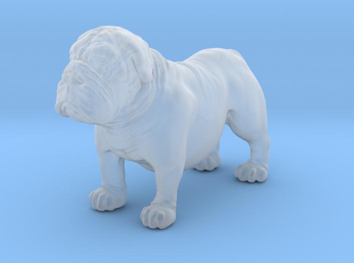 Bull Dog mini size (color) 3d printed