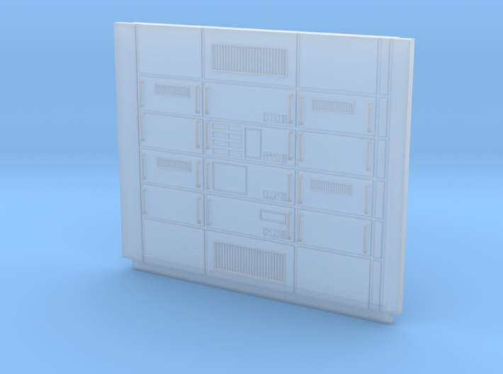 Set-1 Sci-Fi Wall Computer Banks-Short-72 3d printed