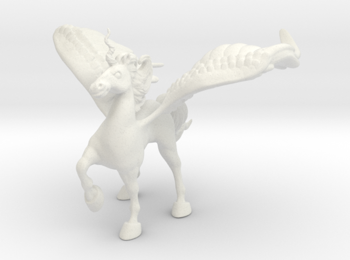 Protection Alicorn 3d printed