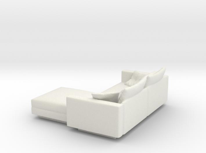 L Shaped Sofa Esc: 1:50 3d printed