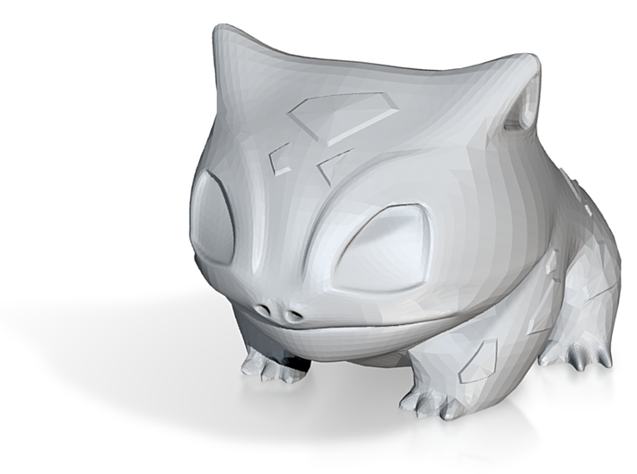 New bulbasaur planter  3d printed