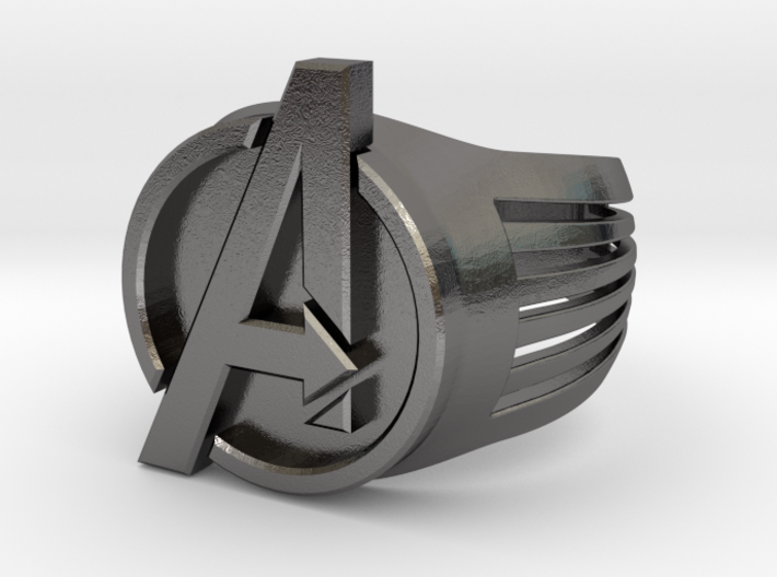 Avengers Ring 26mm 3d printed