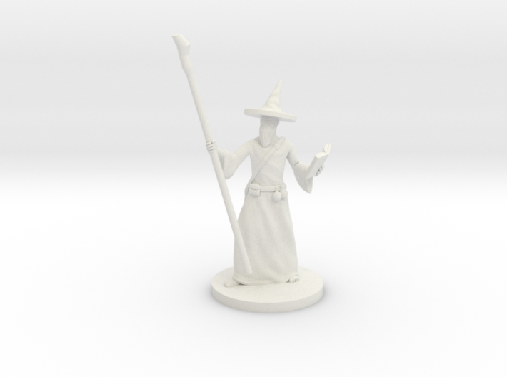 Wizard scaled to 80precent 3d printed