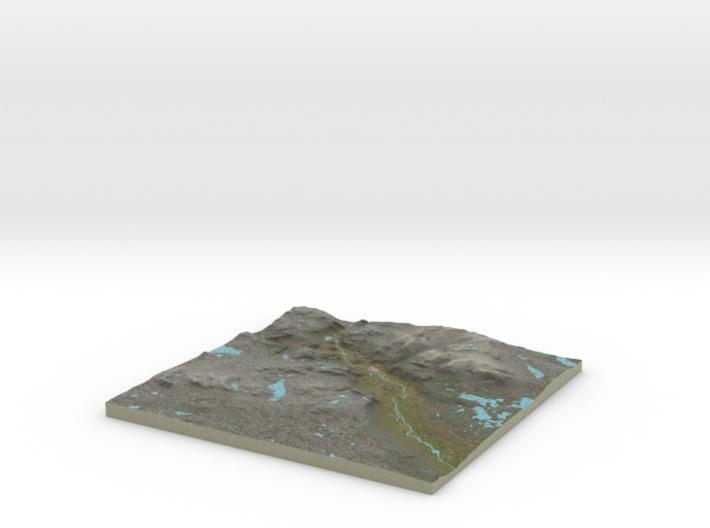 Terrafab generated model Wed Jul 06 2016 19:23:09 3d printed