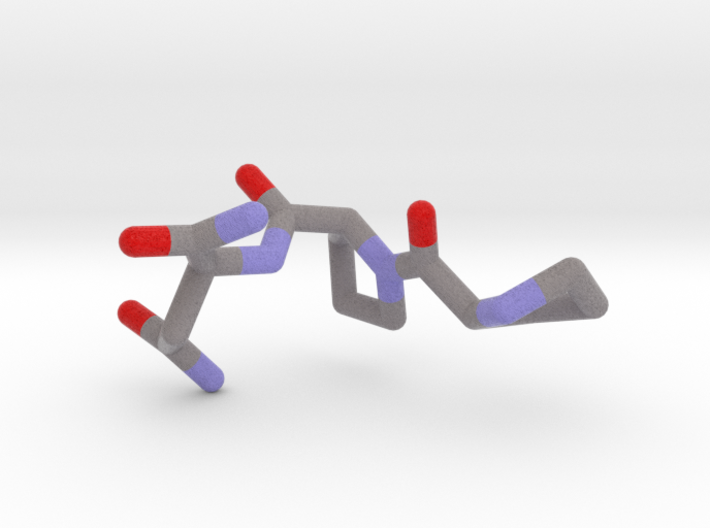 Tripeptide H-dPro-Pro-Asn-NH2 3d printed