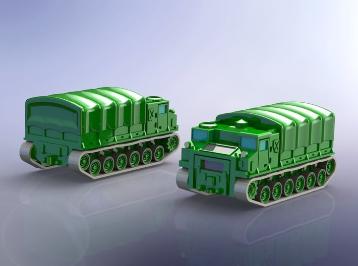 US M8E1 High Speed Tractor / Carrier 1/285 3d printed