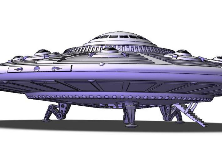 """5"""" dia. Scout Ship UFO, Flying Saucer Kit-November 3d printed Touchdown!"""