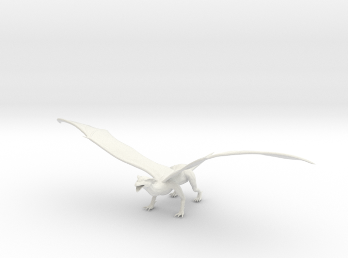 Dragon 3d printed