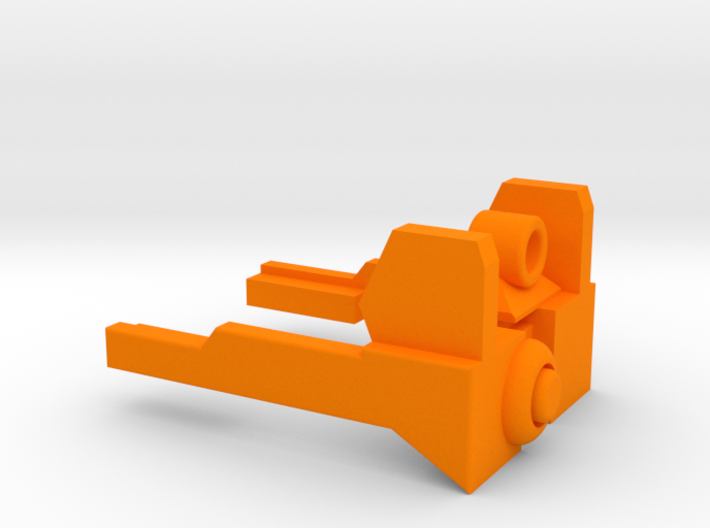 NERF MODULUS REAR SIGHT 3d printed
