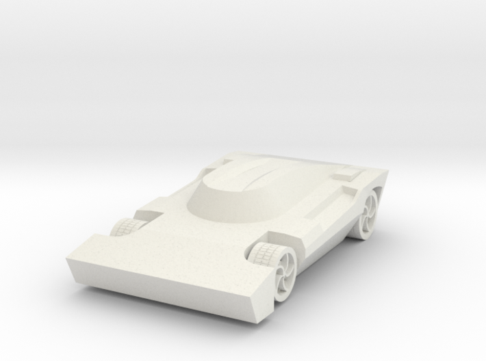 Rocket League - Breakout Car 3d printed