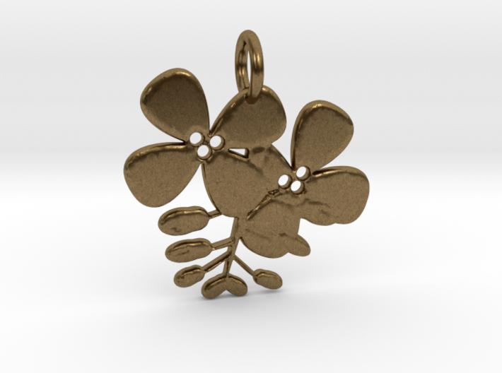 Flower No.2 Pendant 3d printed
