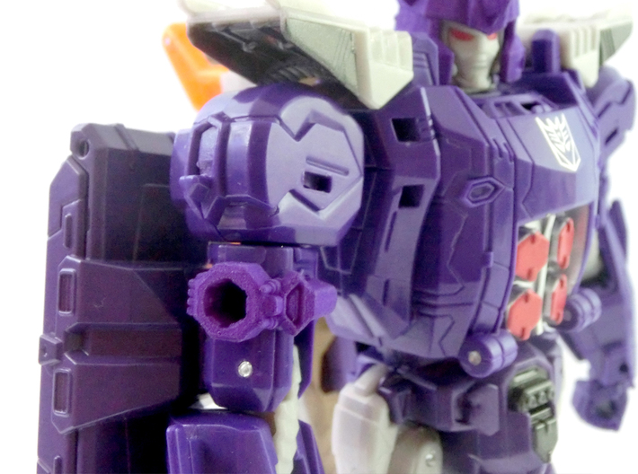 TR Galvatron Cannon Adaptor 3d printed