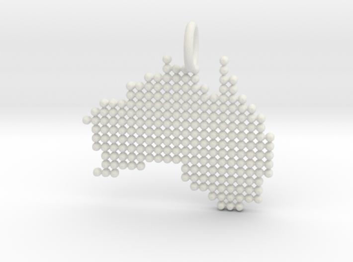 Australia Dots 3d printed