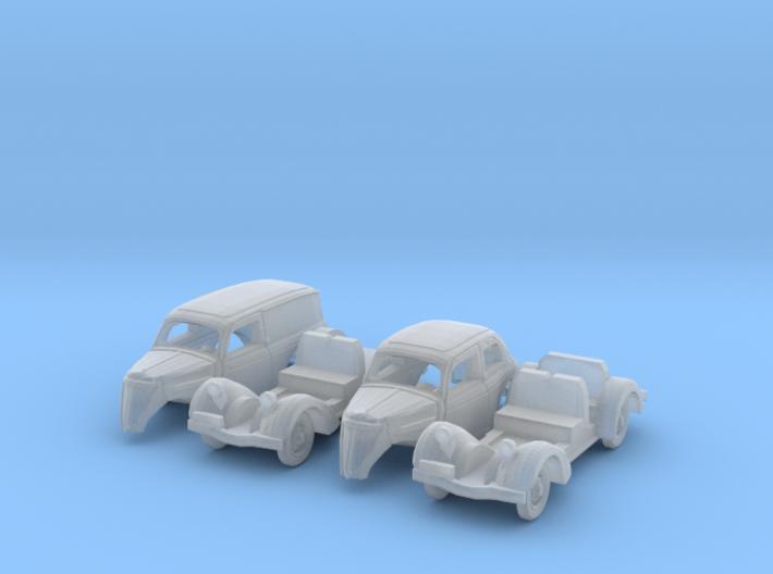 SET 2x Ford Eifel (1/144) 3d printed