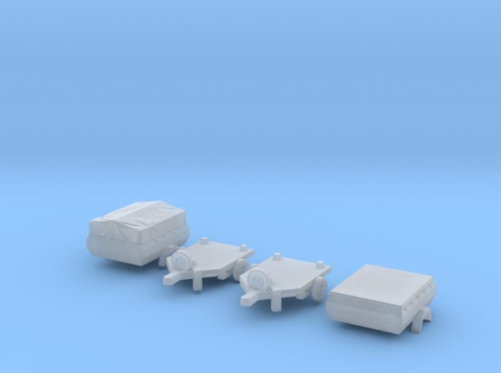 SET 2x HP 350.01 (N 1:160) 3d printed