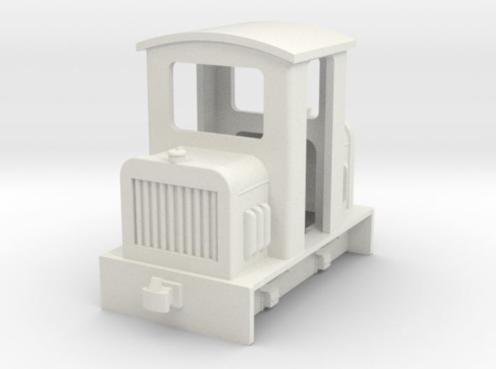 009 small centercab diesel fit HM01 chassis 3d printed