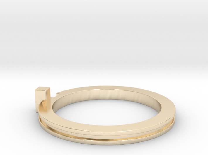 Slim Stackable Ring Size 7 3d printed
