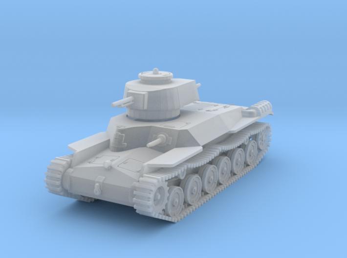 Type 97 Chi Ha (1/87) 3d printed
