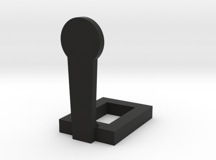 1:24 Scale Miniature Classic Popper Steel Target 3d printed