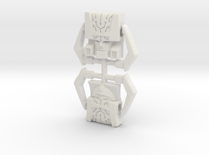 Headmaster, Animated and G1 Two-Pack 3d printed