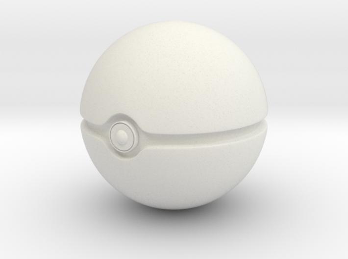 Pokeball 3d printed