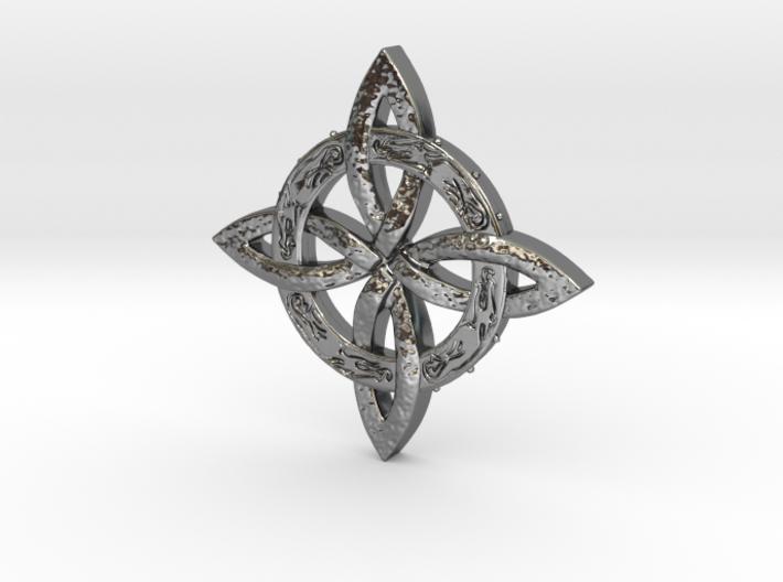 Trinity Pendant 3d printed
