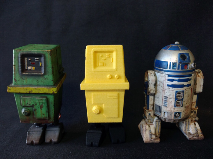PRHI Star Wars Gonk Droid 1/12 Scale - Body 3d printed