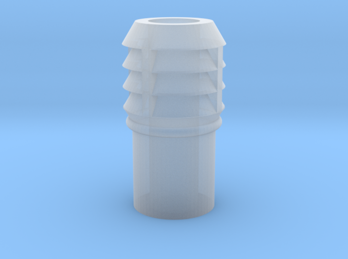 CO43 Chimney pot for Consall station 3d printed