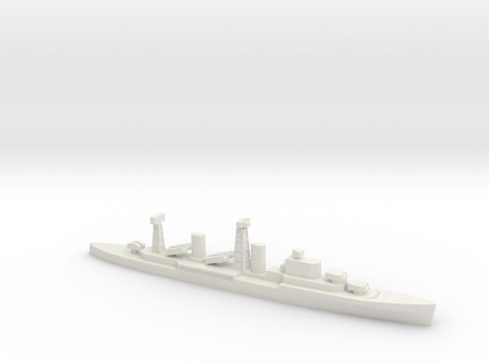 PLAN Chong Qing Missile Cruiser, 1/2400 3d printed
