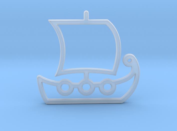 Ship No.1 3d printed
