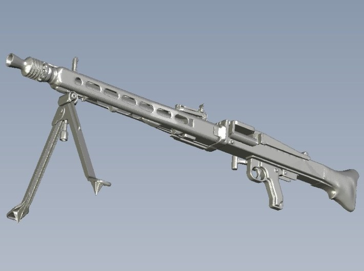 1/24 scale WWII Wehrmacht MG-42 machineguns x 2 3d printed